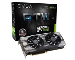 VGA GEFORCE GTX 1070 8GB EVGA FTW DT GAMING 08G-P4-6274-KR