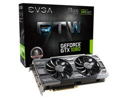 VGA GEFORCE GTX 1080 8GB EVGA FTW GAMING 08G-P4-6286-KR