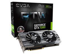 VGA GEFORCE GTX 1080 8GB EVGA FTW GAMING 08G-P4-6286-KR